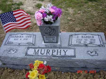 MURPHY, JAMES HAROLD - Lawrence County, Arkansas | JAMES HAROLD MURPHY - Arkansas Gravestone Photos