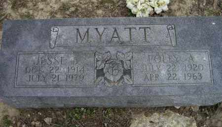 MYATT, POLLY A. - Lawrence County, Arkansas | POLLY A. MYATT - Arkansas Gravestone Photos