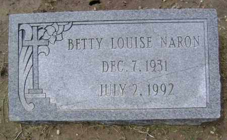 NARON, BETTY LOUISE - Lawrence County, Arkansas | BETTY LOUISE NARON - Arkansas Gravestone Photos