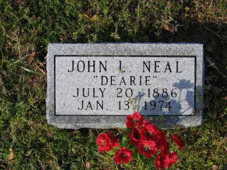 "NEAL, JOHN L.  ""DEARIE"" - Lawrence County, Arkansas 