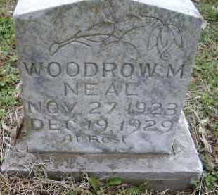 NEAL, WOODROW M. - Lawrence County, Arkansas | WOODROW M. NEAL - Arkansas Gravestone Photos