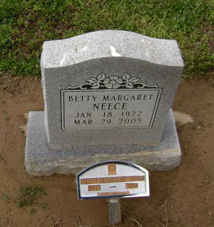 NEECE, BETTY MARGARET - Lawrence County, Arkansas | BETTY MARGARET NEECE - Arkansas Gravestone Photos