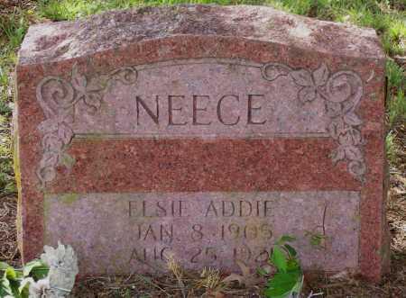 NEECE, ELSIE ADDIE - Lawrence County, Arkansas | ELSIE ADDIE NEECE - Arkansas Gravestone Photos