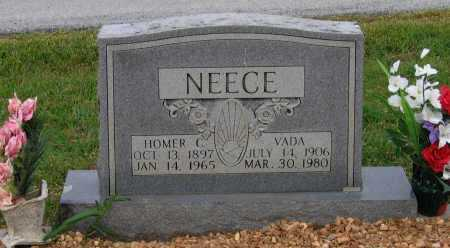 NEECE, HOMER CHARLES - Lawrence County, Arkansas | HOMER CHARLES NEECE - Arkansas Gravestone Photos