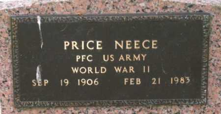 NEECE (VETERAN WWII), LEO PRICE - Lawrence County, Arkansas | LEO PRICE NEECE (VETERAN WWII) - Arkansas Gravestone Photos