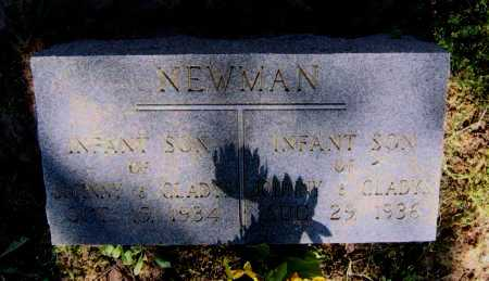 NEWMAN, INFANT SON - Lawrence County, Arkansas | INFANT SON NEWMAN - Arkansas Gravestone Photos