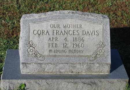 DAVIS NEWPORT, CORA FRANCES - Lawrence County, Arkansas | CORA FRANCES DAVIS NEWPORT - Arkansas Gravestone Photos