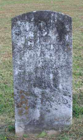 NEWPORT (VETERAN), LESTER E. - Lawrence County, Arkansas | LESTER E. NEWPORT (VETERAN) - Arkansas Gravestone Photos