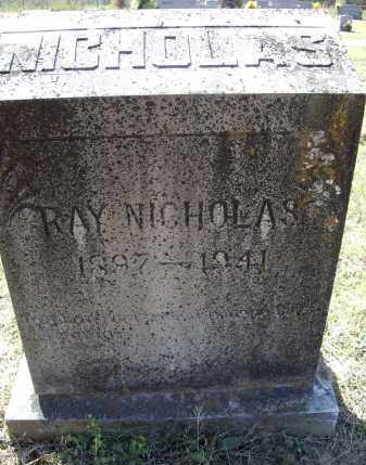 NICHOLAS, THOMAS RAY - Lawrence County, Arkansas | THOMAS RAY NICHOLAS - Arkansas Gravestone Photos