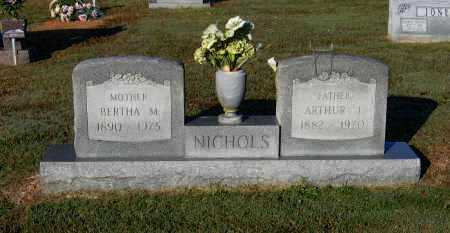NICHOLS, ARTHUR JAMES - Lawrence County, Arkansas | ARTHUR JAMES NICHOLS - Arkansas Gravestone Photos