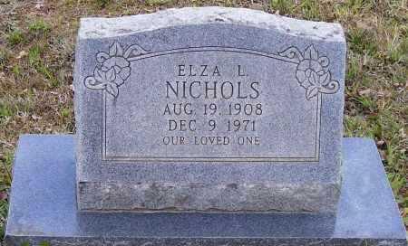 NICHOLS, ELZA L. - Lawrence County, Arkansas | ELZA L. NICHOLS - Arkansas Gravestone Photos