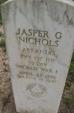 NICHOLS (VETERAN WWI), JASPER GARLAND - Lawrence County, Arkansas | JASPER GARLAND NICHOLS (VETERAN WWI) - Arkansas Gravestone Photos