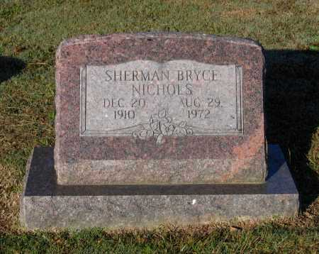 NICHOLS, SHERMAN BRYCE - Lawrence County, Arkansas | SHERMAN BRYCE NICHOLS - Arkansas Gravestone Photos
