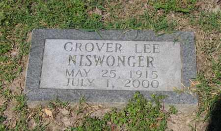 NISWONGER, GROVER LEE - Lawrence County, Arkansas | GROVER LEE NISWONGER - Arkansas Gravestone Photos