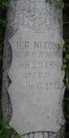 NIXON, H. R. - Lawrence County, Arkansas | H. R. NIXON - Arkansas Gravestone Photos