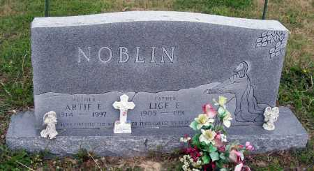 NOBLIN, LIGE E. - Lawrence County, Arkansas | LIGE E. NOBLIN - Arkansas Gravestone Photos