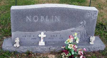 NOBLIN, ARTIE E. - Lawrence County, Arkansas | ARTIE E. NOBLIN - Arkansas Gravestone Photos