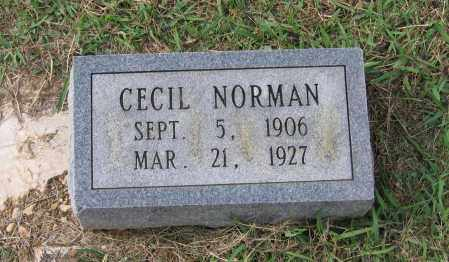 NORMAN, CECIL - Lawrence County, Arkansas | CECIL NORMAN - Arkansas Gravestone Photos