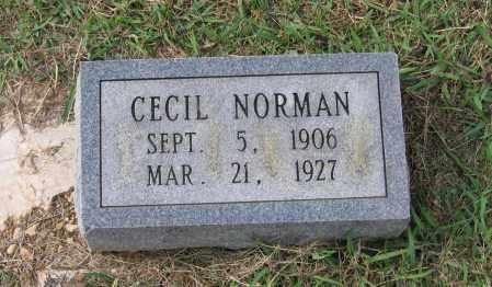 NORMAN, CECIL - Lawrence County, Arkansas | CECIL NORMAN - Arkansas Gravestone Photos