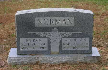 NORMAN, EPHRAIM ISAAC - Lawrence County, Arkansas | EPHRAIM ISAAC NORMAN - Arkansas Gravestone Photos