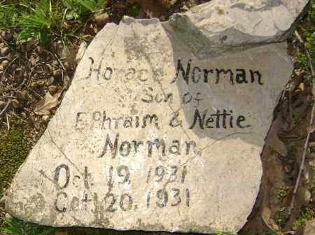 NORMAN, HORACE JAMES - Lawrence County, Arkansas | HORACE JAMES NORMAN - Arkansas Gravestone Photos