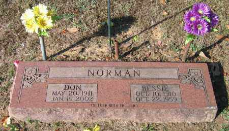 NORMAN, BESSIE - Lawrence County, Arkansas | BESSIE NORMAN - Arkansas Gravestone Photos