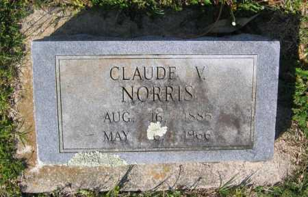 NORRIS, CLAUDE VINCE - Lawrence County, Arkansas | CLAUDE VINCE NORRIS - Arkansas Gravestone Photos