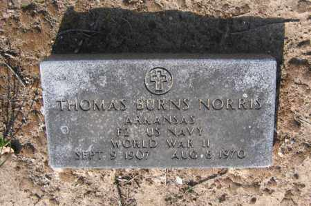 NORRIS (VETERAN WWII), THOMAS BURNS - Lawrence County, Arkansas | THOMAS BURNS NORRIS (VETERAN WWII) - Arkansas Gravestone Photos