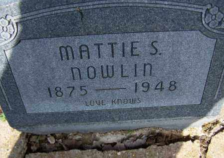 "CRABTREE, MARY S. ""MATTIE"" - Lawrence County, Arkansas 