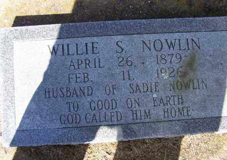 "NOWLIN, JR., WILLIAM SILAS ""WILLIE"" - Lawrence County, Arkansas 