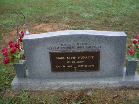 "NUNALLY (VETERAN), NARL ALVIN ""SONNY"" - Lawrence County, Arkansas 