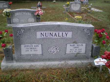 "NUNALLY, NARL ALVIN ""SONNY"" - Lawrence County, Arkansas | NARL ALVIN ""SONNY"" NUNALLY - Arkansas Gravestone Photos"