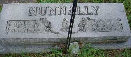 NUNNALLY, ALMA FAYE - Lawrence County, Arkansas | ALMA FAYE NUNNALLY - Arkansas Gravestone Photos