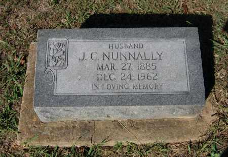 NUNNALLY, JOHN C. ZEBEDEE - Lawrence County, Arkansas | JOHN C. ZEBEDEE NUNNALLY - Arkansas Gravestone Photos