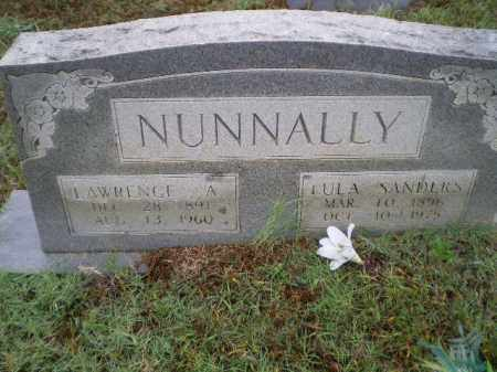 SANDERS NUNNALLY, LULA MAE - Lawrence County, Arkansas | LULA MAE SANDERS NUNNALLY - Arkansas Gravestone Photos