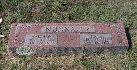 NUNNALLY, MATTHEW WINSTON - Lawrence County, Arkansas | MATTHEW WINSTON NUNNALLY - Arkansas Gravestone Photos