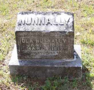 NUNNALLY, JOSEPHINE OLA - Lawrence County, Arkansas | JOSEPHINE OLA NUNNALLY - Arkansas Gravestone Photos