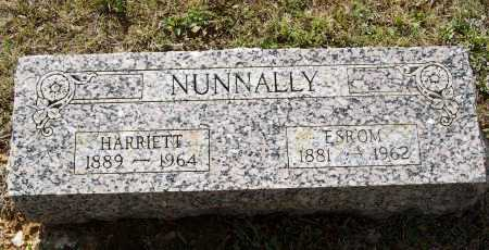 NUNNALLY, HARRIETT FLETCHER WARD - Lawrence County, Arkansas | HARRIETT FLETCHER WARD NUNNALLY - Arkansas Gravestone Photos