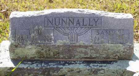 NUNNALLY, SAMUEL - Lawrence County, Arkansas | SAMUEL NUNNALLY - Arkansas Gravestone Photos