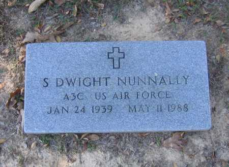 NUNNALLY (VETERAN), SHERRIL DWIGHT - Lawrence County, Arkansas | SHERRIL DWIGHT NUNNALLY (VETERAN) - Arkansas Gravestone Photos