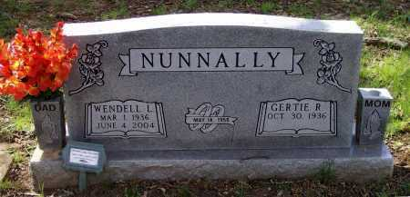 NUNNALLY, WENDELL LACY - Lawrence County, Arkansas | WENDELL LACY NUNNALLY - Arkansas Gravestone Photos