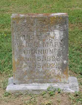 O'BANION, LOUIS E. - Lawrence County, Arkansas | LOUIS E. O'BANION - Arkansas Gravestone Photos