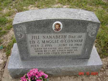 O'CONNOR, JILL NANABETH - Lawrence County, Arkansas | JILL NANABETH O'CONNOR - Arkansas Gravestone Photos