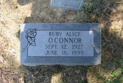 O'CONNOR, RUBY ALICE - Lawrence County, Arkansas | RUBY ALICE O'CONNOR - Arkansas Gravestone Photos