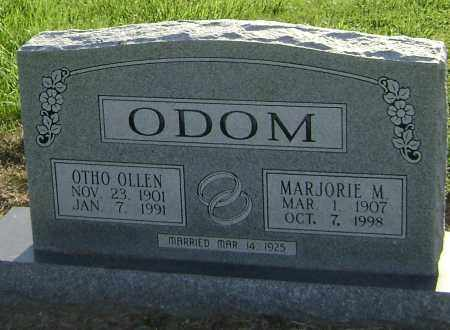 ODOM, OTHO OLLEN - Lawrence County, Arkansas | OTHO OLLEN ODOM - Arkansas Gravestone Photos