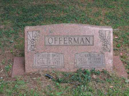 OFFERMAN, FLORENCE NELDORA - Lawrence County, Arkansas | FLORENCE NELDORA OFFERMAN - Arkansas Gravestone Photos