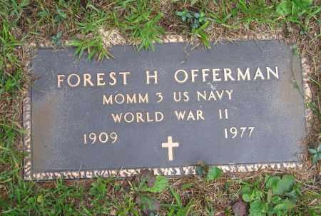 OFFERMAN (VETERAN WWII), FOREST HERBERT - Lawrence County, Arkansas | FOREST HERBERT OFFERMAN (VETERAN WWII) - Arkansas Gravestone Photos