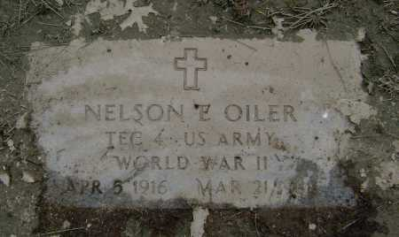 OILER  (VETERAN WWII), NELSON E. - Lawrence County, Arkansas | NELSON E. OILER  (VETERAN WWII) - Arkansas Gravestone Photos