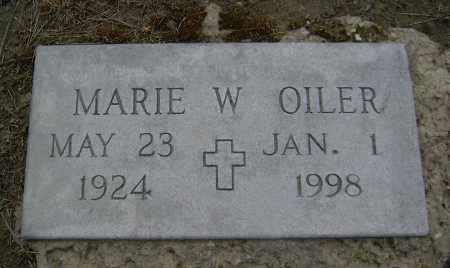 OILER, MARY MARIE - Lawrence County, Arkansas | MARY MARIE OILER - Arkansas Gravestone Photos