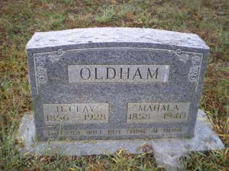 OLDHAM, SARAH MAHALA - Lawrence County, Arkansas | SARAH MAHALA OLDHAM - Arkansas Gravestone Photos